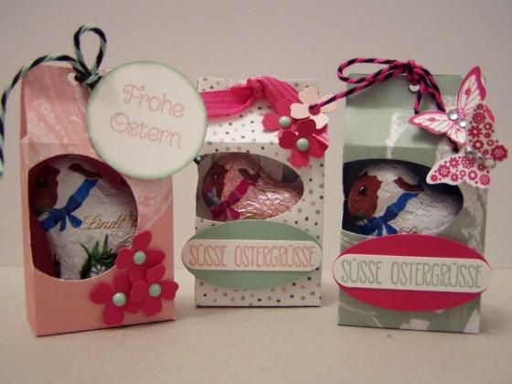 drei süße Osterlämmchen