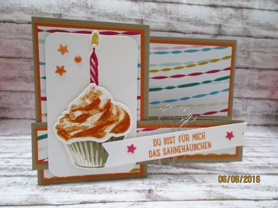 die Geburtstagskarte