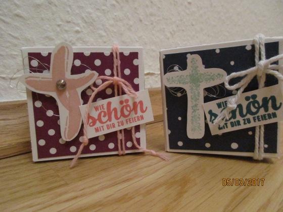 Gästegoodies zur Kommunion - Motiv Kreuz